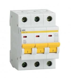 Выключатель автоматический ВА47-29 3Р 4А 4,5кА С IEK