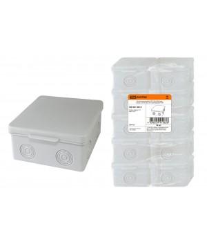Коробка распаячная 100х100х55мм IP54 TDM