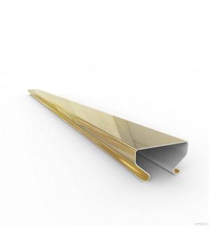 Раскладка  ASN 3848 золото L=3,00 алюминий